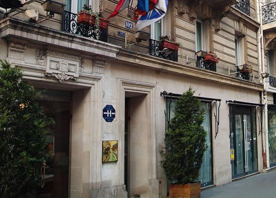 Hotel Melia Alexander Paris 16e Arrondissement France