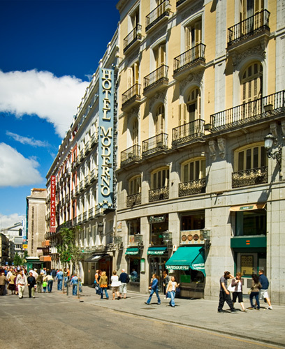 Hotel moderno puerta del sol madrid spain for Hotel paris en madrid puerta del sol