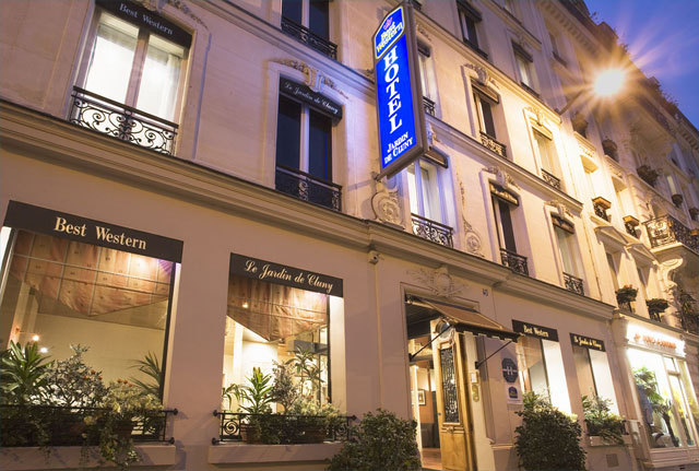 Hotel best western le jardin de cluny paris 5e for Best western le jardin de cluny booking