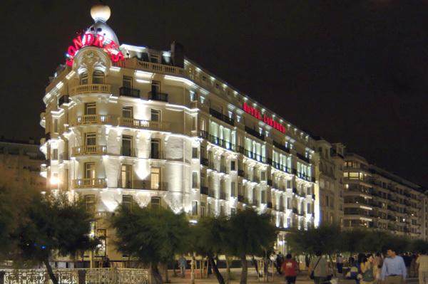 Hotel londres y de inglaterra donostia san sebastian for Hotels londres