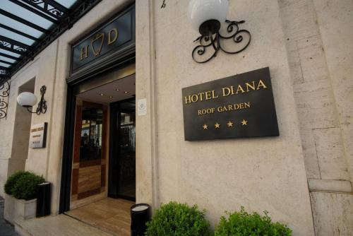 Hotel Diana Roof Garden Rome Italy Hotelsearch Com