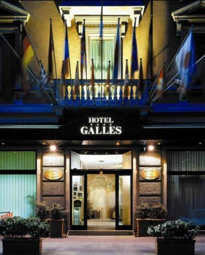 Hotel best western hotel galles for Hotel galles milano