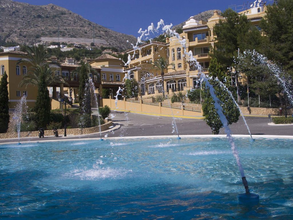 Hotel sh altea hills resort altea spain - Hotel sha altea ...