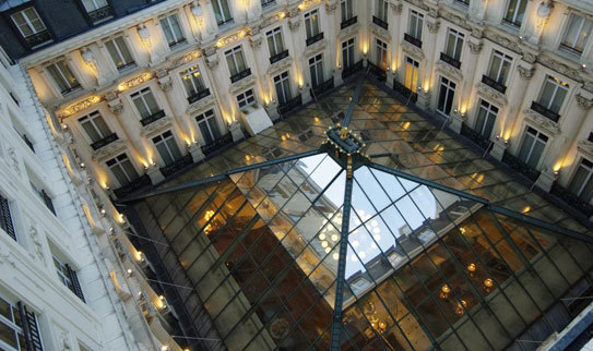 Hotel le grand hotel intercontinental paris paris 9e for Le grand hotel
