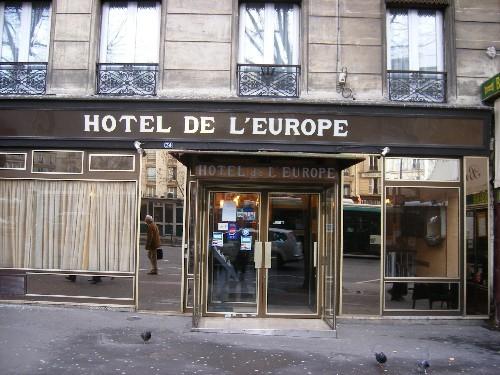 Hotel grand hotel de l 39 europe paris 10e arrondissement france hotelse - L eclat de verre paris ...