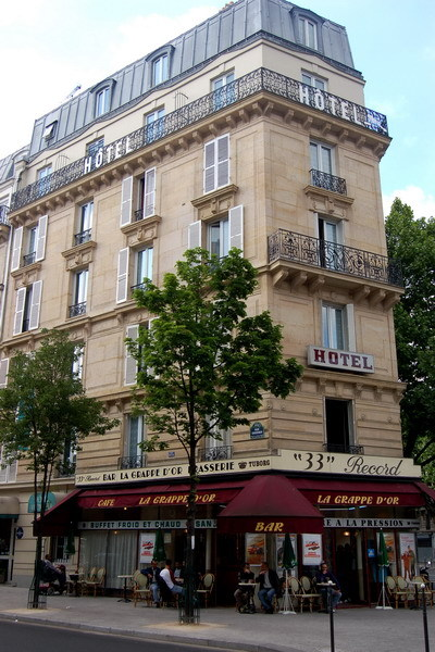 hotel victoria paris 18e arrondissement france
