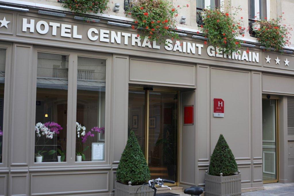 Hotel central saint germain paris 5e arrondissement for Hotel saint germain